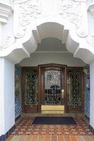 The beautiful facade