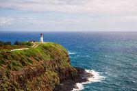 Kilauea Lighthouse on a Sunny Day