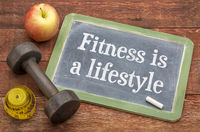 fitness is a lifestyle concept
