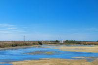 Ile de Ré landscape with salt