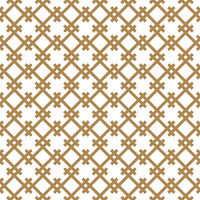 Seamless geometric pattern in golden and white.