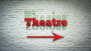 Street Sign to Theatre