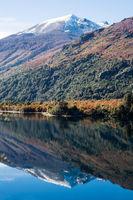 Autumn Colors in Lake Gutierrez, near Bariloche, Patagonia, Argentina