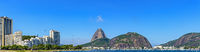 Botafogo beach, Sugar Loaf hill, sea and buildings
