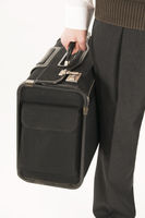 Koffer festhalten