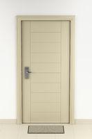 Doormat in front of the door