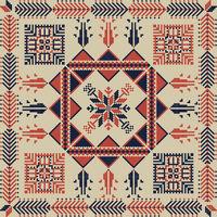 Palestinian embroidery pattern 35