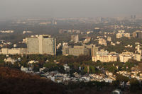 View of Pune city from ARAI centre, Pune, Maharashtra, India