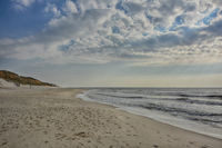 SYLT-Strand am Roten Cliff