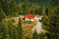 House in the Rhodopes Mountains