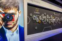 Lumix stand in the Photokina Exhibition