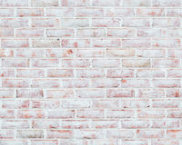 Whitewashed brick wall texture