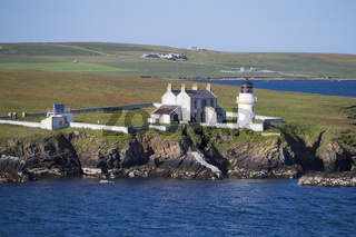Leuchtturm auf den Orkney Inseln