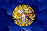 flag of Southbridge, Massachusetts