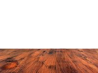 old varnish brown oak wood table isolated on white background. wooden table.