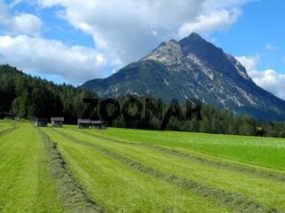 Namloser Wetterspitze im Lechtal, Tirol, Österreich