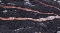 Lava Flow At Hawaii Volcano National Park