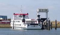 Dutch ferry from Lauwersoog to Schiermonnikoog