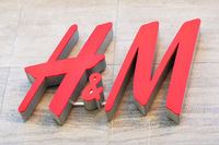 H&M logo sign