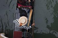 Gondoleire in Venedig