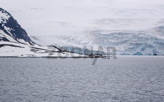 The Comandante Ferraz Antarctic Station - Brazilian Antarctic research station