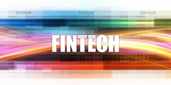 Fintech Corporate Concept