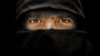 arabic male eyes portrait