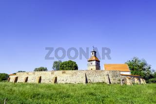 Burg Walternienburg bei Zerbst/Anhalt, Sachsen-Anhalt, Deutschland