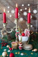 Kleiner Stiefel zu Nikolaus / Weihnachten