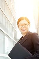 Asian female executive