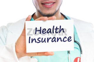Doctor health insurance medical concept ill illness healthy