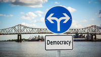 Street Sign to Democracy