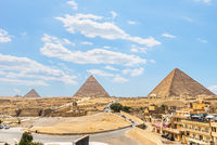 Pyramids of plateau Giza