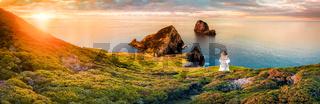 Bay of Islands in New Zealand