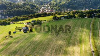 Landschaft in Sachsen