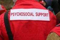 Paramedics mountain rescue service Psychosocial Support