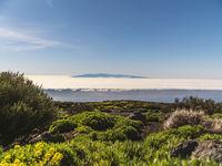 La Gomera seen from Teneriffa