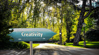 Street Sign to Creativity