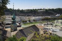 Salzburg - Blick vom Kapuzinerberg, Österreich