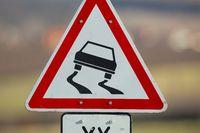 Road sign caution