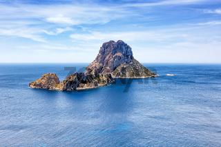 Ibiza Es Vedra Felsen Insel Spanien Reise Meer Landschaft Ferien Mittelmeer Urlaub