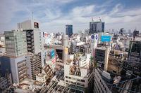 View over Shibuya