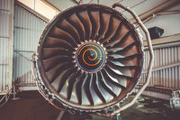Airplane engine maintenance