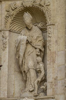 ornaments and sculptures of Gothic style, Spanish Ancient Art