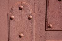 Door in Richelieu, Indre-et-Loire, Centre-Val de Loire, France