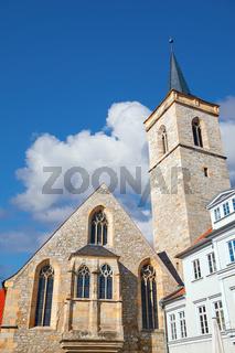 Saint Giles church in Erfurt,Thuringia, Germany