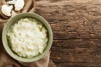 Fresh Vegan Cauliflower Puree