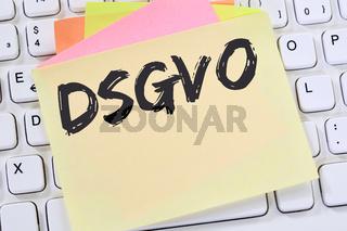 DSGVO Datenschutz Grundverordnung Verordnung Regel EU Europäische Union Computer Internet