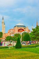 Sultanahmet square in Istanbul