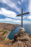 Berggipfel auf La Gomera,Kanarische Inseln, Spanien